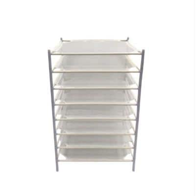 8-Layer Stackable Net Drying Rack