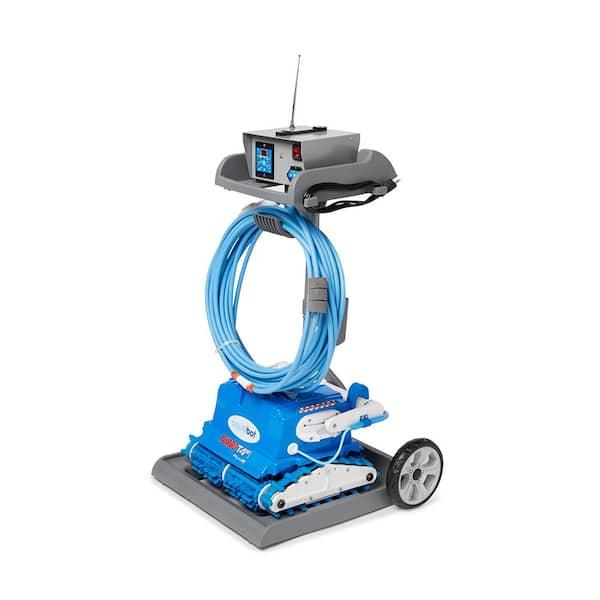 Aquabot Aquabot Turbo T4rc Abturt4 In Ground Automatic Robotic Swimming Pool Vacuum Cleaner Abturt4r1 The Home Depot