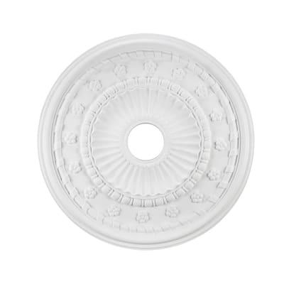 24 in. White Ceiling Medallion