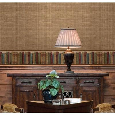 Reynolds Green Books Green Wallpaper Border