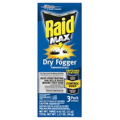 Fresh Scent 1.27 oz. Dry Fogger (3-Pack)