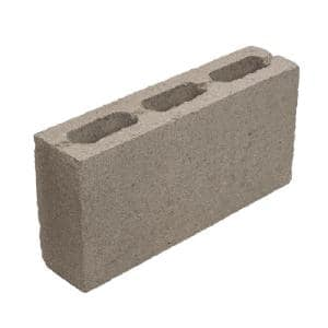 16 in. x 8 in. x 4 in. Light Weight Concrete Block Hollow