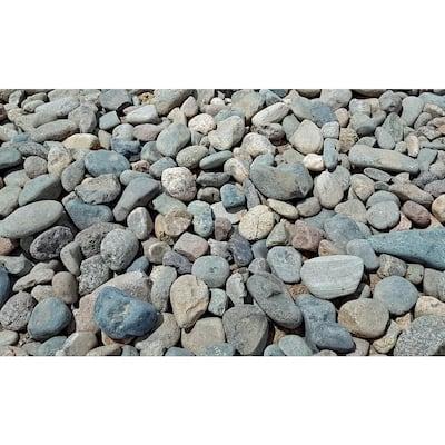 10 cu. ft. Creek Stone Assorted Decorative Stone - (1 Bag/10 cu. ft./Pallet)