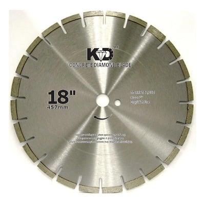 18 in. x .140 in. Concrete Diamond Blade