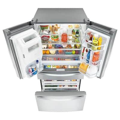 26 cu. ft. French Door Refrigerator in Fingerprint Resistant Stainless Steel
