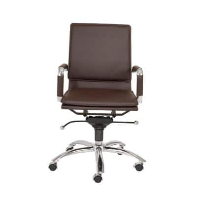 Gunar Brown Pro Low Back Office Chair