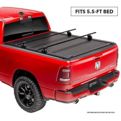 "PRO XR Tonneau Cover - 07-19 Toyota Tundra CrewMax 5'6"" Bed w/ Deck Rail System w/out Stake Pockets"