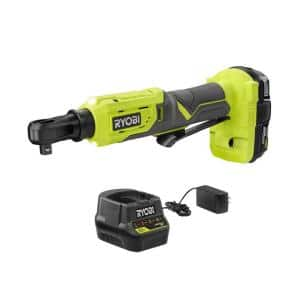 ONE+ 18V Cordless 3/8 in. 4-Postion Ratchet Kit with (1) 1.5 Ah Battery and Charger