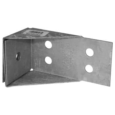 Hot Dipped Galvanized Steel Lateral Anchor System for Deck to Ledger Connections and Stair Stringers