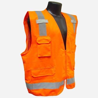 Surveyor Vest Orange 4X`
