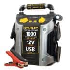 1000 Peak Amp Jump Starter with 12-Volt DC Outlet and USB Power