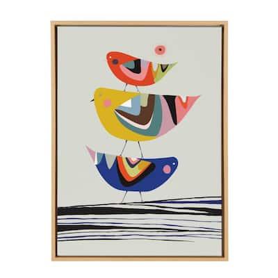 "Sylvie ""The Family Tree"" by Rachel Lee Framed Canvas Wall Art"