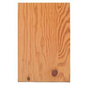 23/32 in. x 4 ft. x 8 ft. Fir Sheathing Plywood (Actual: 0.688 in. x 48 in. x 96 in.)