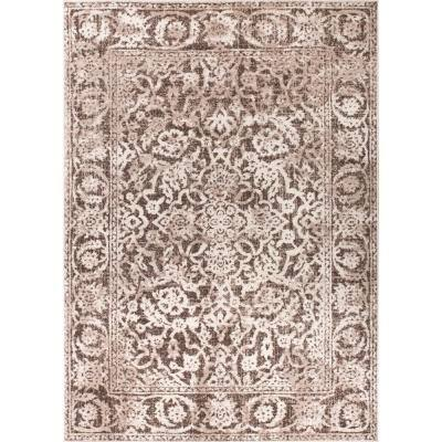 Well Woven Sydney Vintage Sheffield Natural 8 Ft X 11 Ft Traditional Area Rug 22887 The Home Depot