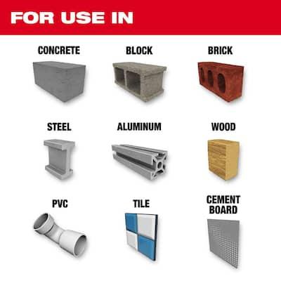 SHOCKWAVE Carbide Multi-Material Drill Bits Set (5-Pack)