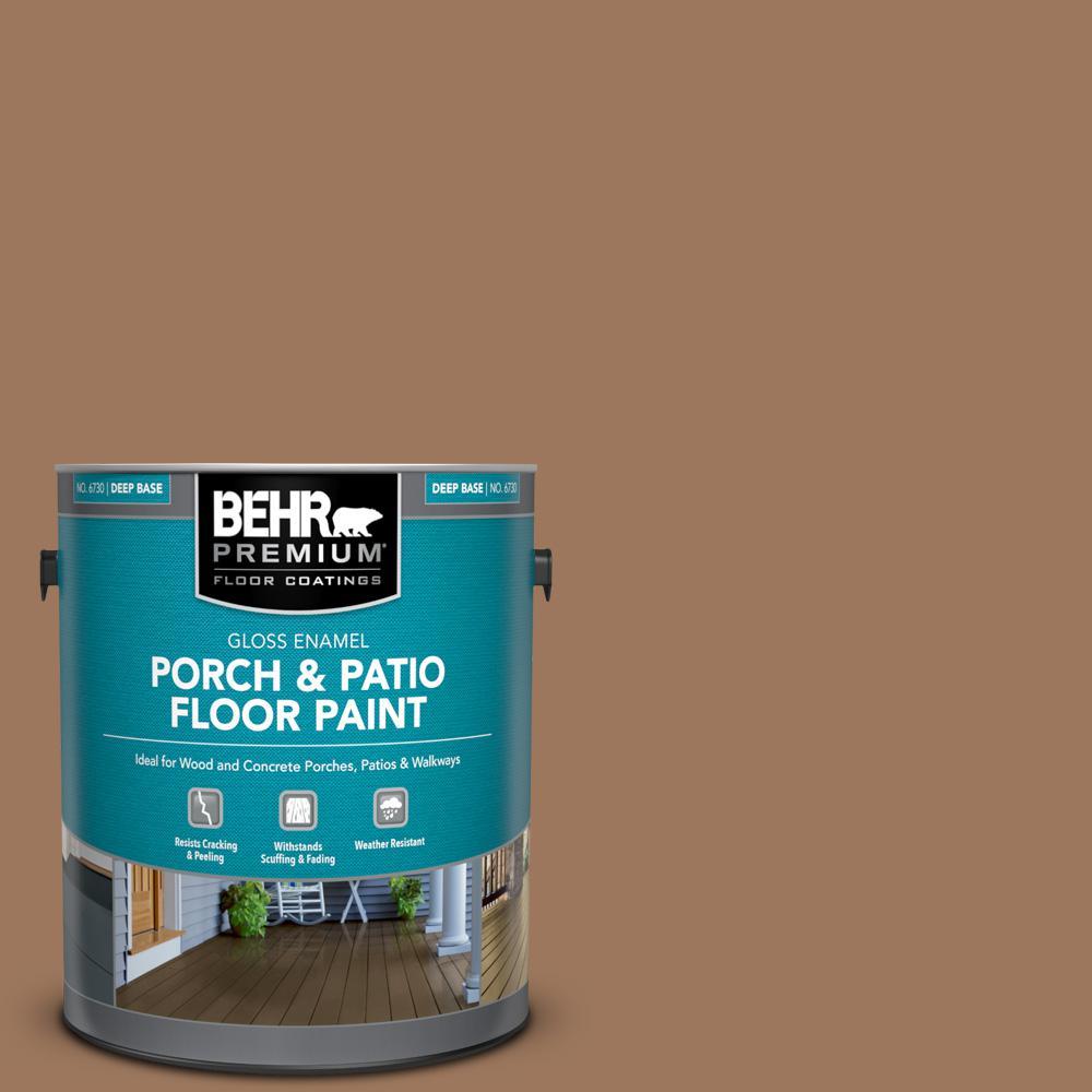 1 gal. #SC-152 Red Cedar Gloss Enamel Interior/Exterior Porch and Patio Floor Paint