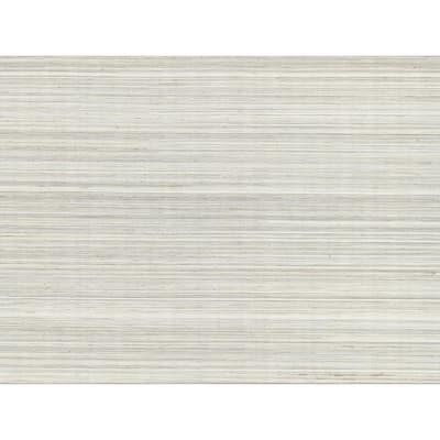 Zoysia Platinum Grasscloth Platinum Wallpaper Sample