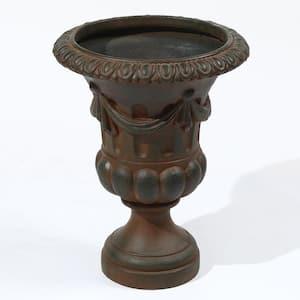 Dark Brown MgO Urn Planter
