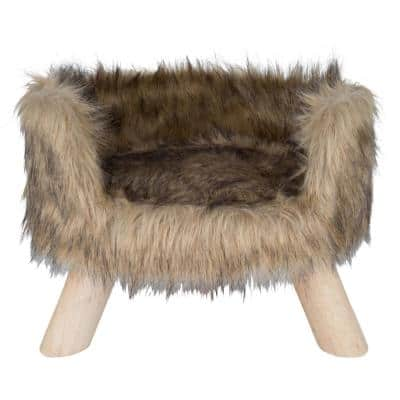 Mocca Nordic Cat Bed