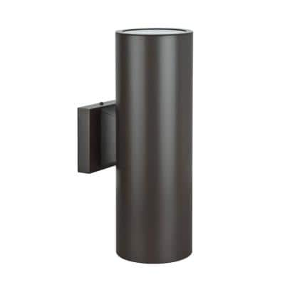 Architectural Exterior 2-Light Oil Rubbed Bronze Outdoor Wall Sconce