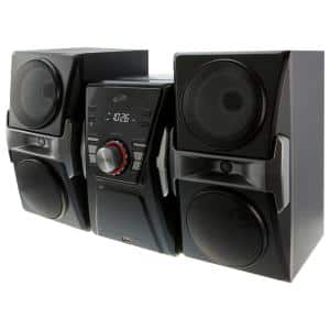 Bluetooth Home Music System with CD/FM Tuner and LED Lights