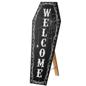 28 in. Halloween Welcome Sign