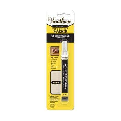 0.33 oz. White Wood Stain Furniture and Floor Touch-Up Marker