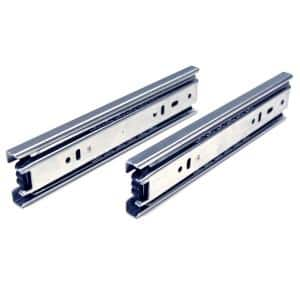 8 in. Side Mount Full Extension Ball Bearing Drawer Slide with Installation Screws (1-Pair)