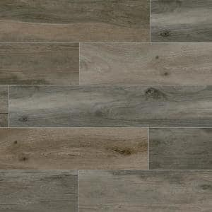 Selva Ash 8 in. x 40 in. Porcelain Floor and Wall Tile (12.92 sq. ft./Case)