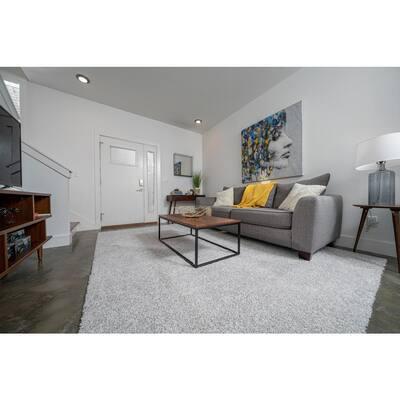Carpet Diem - Color Moongaze Residential 9 in. x 36 in. Peel and Stick Carpet Tile (8 Tiles/Case)