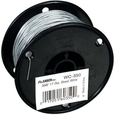 350 ft. 17-Gauge Galvanized Steel Wire