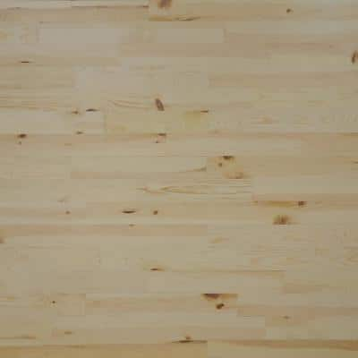1/8 in. x 3 in. x 12-42 in. Pine Peel and Stick Blonde Wooden Decorative Wall Paneling (10 sq. ft./Box)