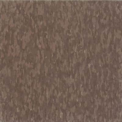 Imperial Texture VCT 12 in. x 12 in. Purple Brown Standard Excelon Commercial Vinyl Tile (45 sq. ft. / case)