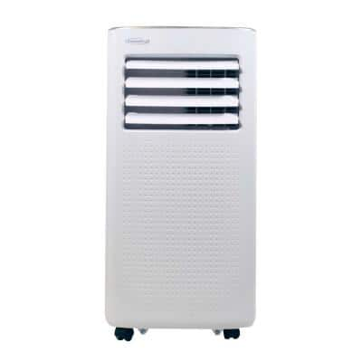 10,000 BTU (6,000 BTU DOE) Portable Air Conditioner with Dehumidifier and Mirage Display in White