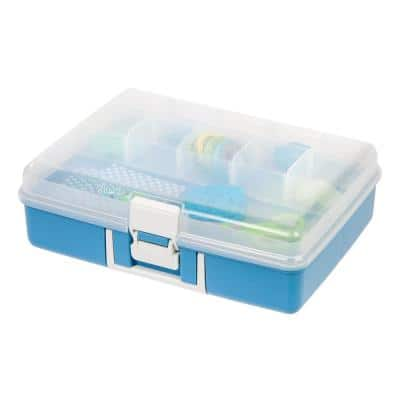 Medium Embellishment Storage Organizer in Blue
