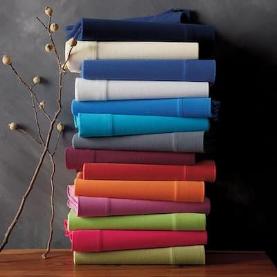 Jersey Knit Cotton Flat Sheet