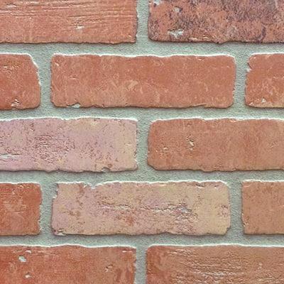 1/4 in. x 48 in. x 96 in. HDF Kingston Brick Panel