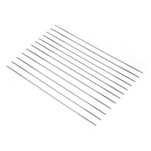 #5R Modified Geometry Pinless Scroll Saw Blades, 12-Pack