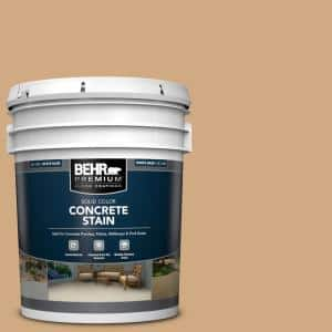 5 gal. #PFC-22 Cold Lager Solid Color Flat Interior/Exterior Concrete Stain
