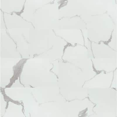 Carrara Luciano 11.81 in. W x 23.62 in. L Rigid Core Click Lock Luxury Vinyl Tile Flooring (1278.42 sq. ft./pallet)