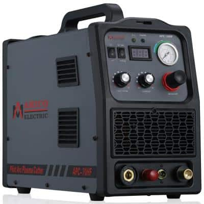 70 Amp Non-Touch Pilot Arc Plasma Cutter, 1.2 in. Clean Cut, 80% Duty Cycle 90-Volt to 300-Volt Wide Voltage