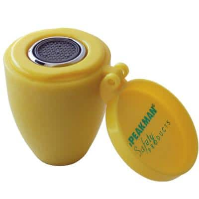 Aerated 2-Spray Heads for Emergency Eyewashes