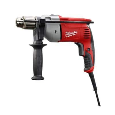 8 Amp Corded 1/2 in. Hammer Drill Driver
