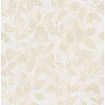 Gramercy Park Gold Leaf Washable Wallpaper Sample