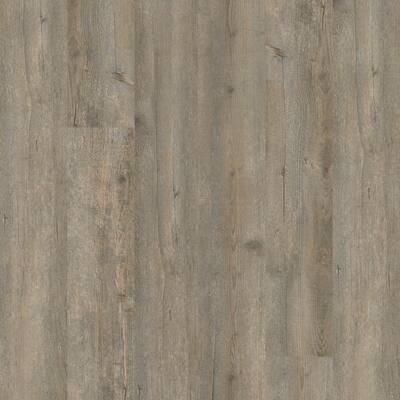 Dellway 6 in. W Fawn Waterproof Click Lock Luxury Vinyl Plank Flooring (23.64 sq. ft./case)