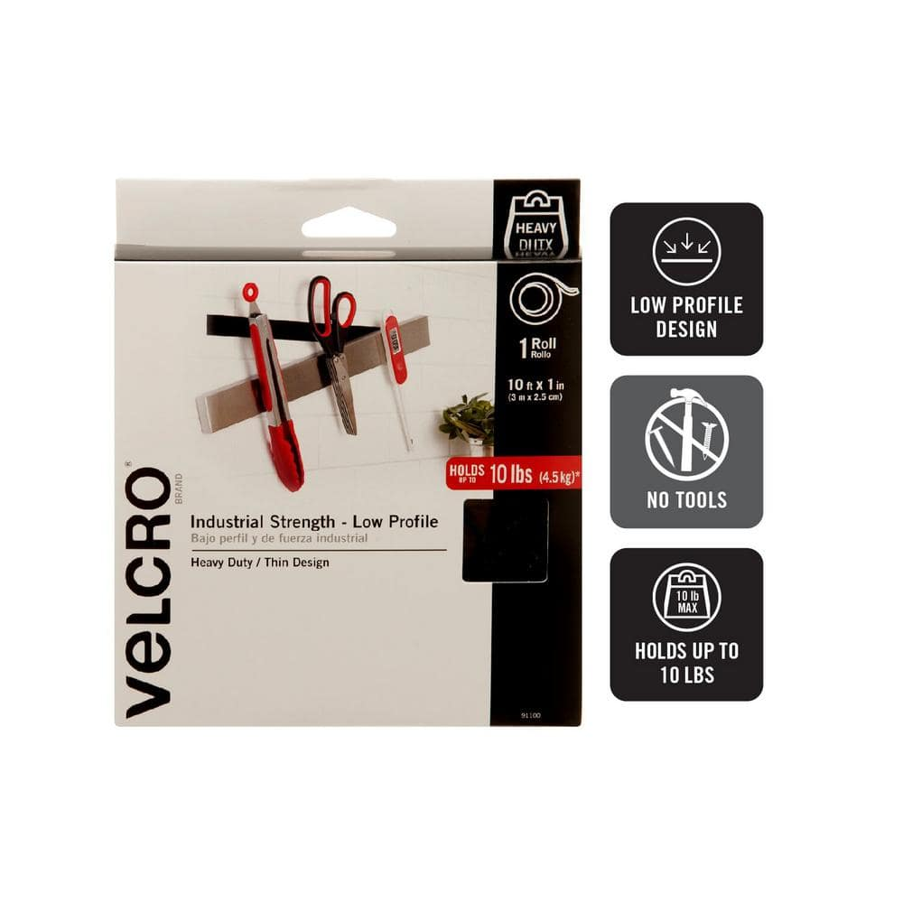 VELCRO Brand Heavy Duty Stick on tape ULTRA MATE® 5CM Wide Self Adhesive Tape