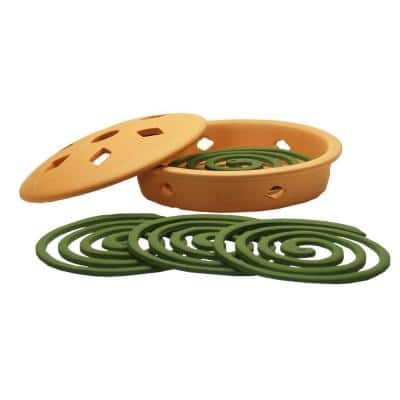 Mosquito Coil Burner with Mosquito Coils