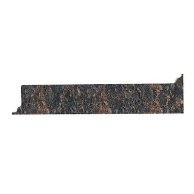 4-5/8 in. x 25-5/8 in. Laminate Endsplash Kit in Spicewood Springs with Full Wrap Ogee Edge