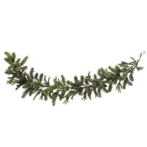 5 ft. Artificial Garland with Pine and Pinecone
