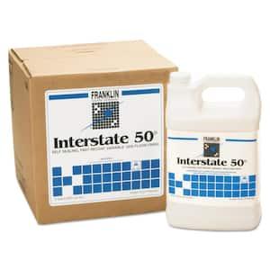 1 Gal. Bottle Liquid, Interstate 50 Floor Finish Non-Carpet Cleaner 4 per Carton